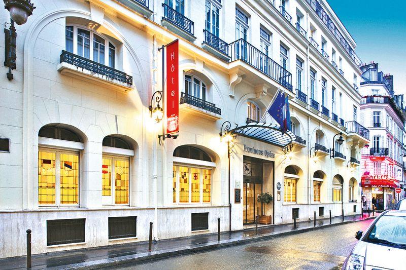 Hotel Les Provinces Opera Paris
