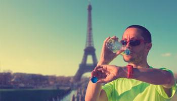 Running en week-end Paris