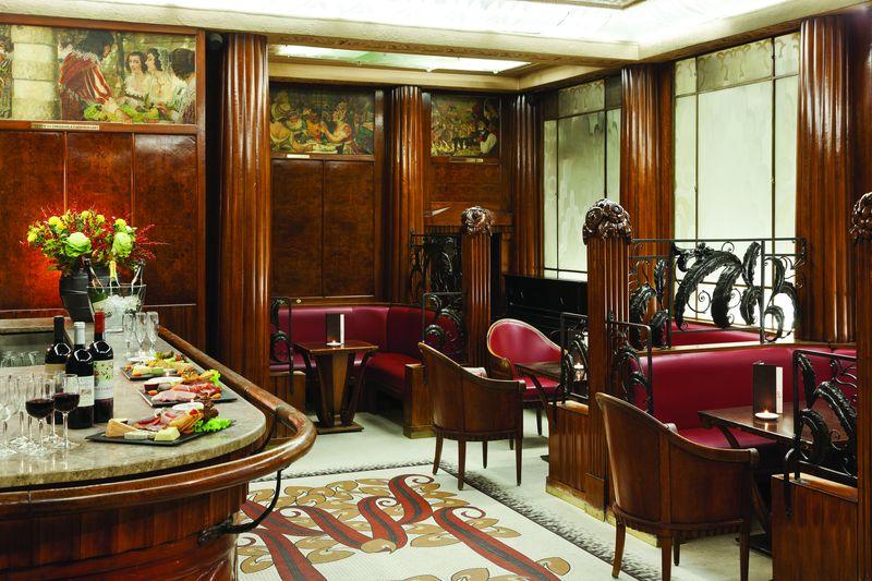 h tel provinces op ra listed art deco bar. Black Bedroom Furniture Sets. Home Design Ideas