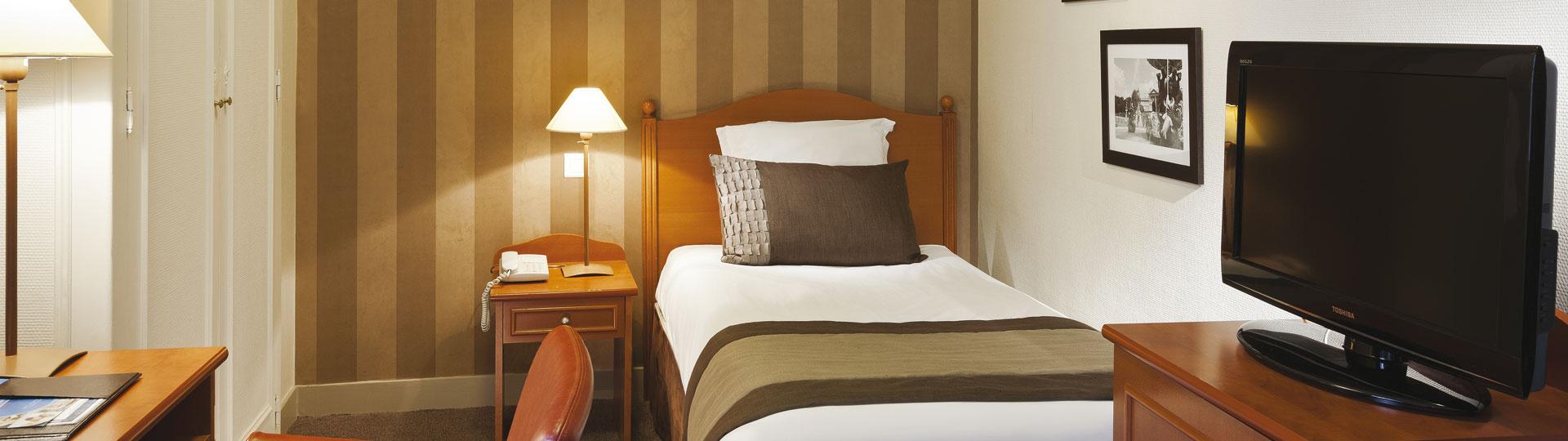 Chambre simple hôtel 3 étoiles paris