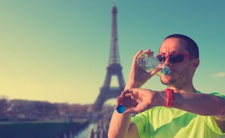 Running en week-end Paris